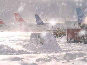 Kötü hava şartları uçuşa izin vermiyor