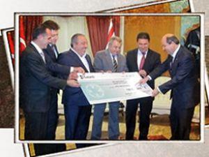 Ercan Havalimanı için ilk ödeme yapıldı