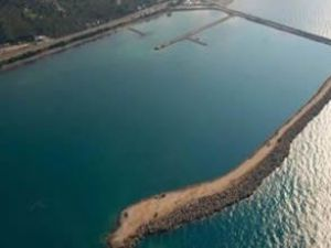Havalimanı için 6 milyon ton taş