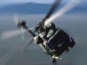 Askeri helikopter yere çakıldı