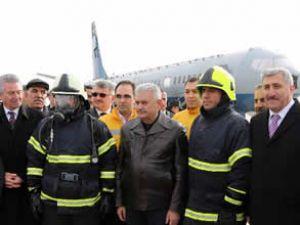 Yangın simülatörü tesisi Erzincan'da açıldı