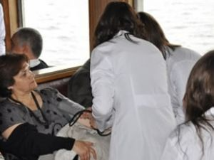 Şehir Hatları yolcularına sağlık hizmeti