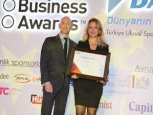 Arvento'ya Avrupa İş Ödülü verildi