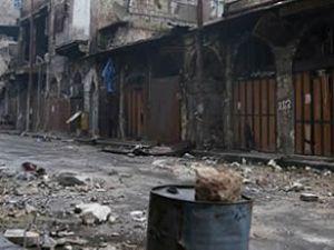 Halep'te askeri havaalanları kuşatıldı