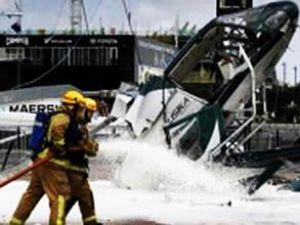 Peru'da helikopter kazası: 7 ikşi öldü