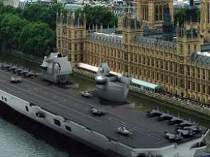 İngiliz ordusuna dev uçak gemisi