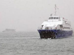 Bazı deniz otobüsü ve feribot seferleri iptal