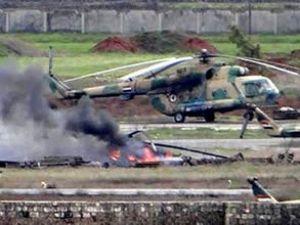 Suriye'de 25 pilot esir alındı