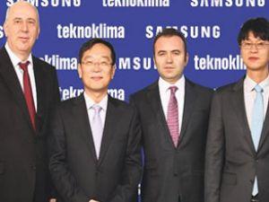 Samsung ve Teknoklima yeniden anlaştı
