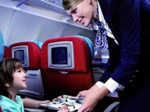 Havayolu yemeklerinde Türkler ilk sırada