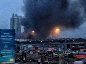 Londra'da helikopter düştü, 2 kişi öldü