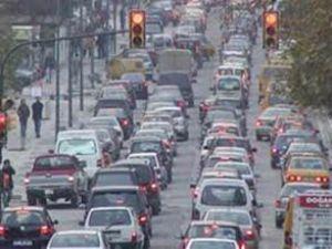 Trafikteki araç sayısı artmaya devam ediyor