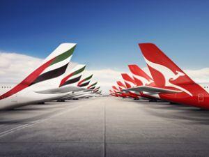 Emirates ile Qantas ortaklığına geçişi onay