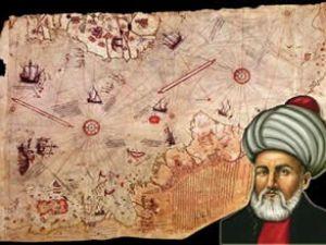 Piri Reis Haritası Topkapı Sarayı'nda