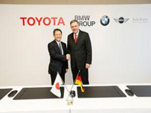TOYOTA ve BMW'den stratejik işbirliği