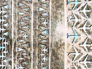 """Dünya'nın en büyük """"Uçak Mezarlığı"""""""