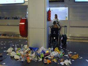 Barajas havaalanındaki grev bitti