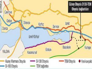 İstanbul-İzmit hattına 2 otoyol geliyor