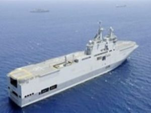 Fransa'dan Rusya'ya savaş gemisi kazığı
