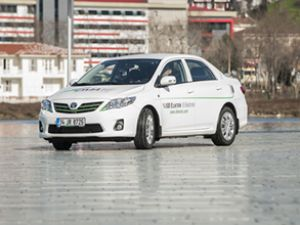 280 Km yapan elektrikli araçlar yola çıktı