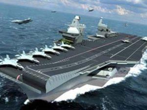 İtalyan uçak gemisi Marmaris'e gelecek