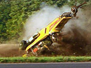 İlginç yarışta helikopter kazası yaşandı