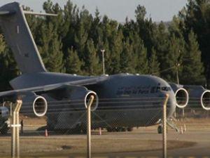 Katar uçağı Gaziantep Havalimanına geldi