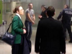 İtalya'da havaalanında intihar teşebbüsü