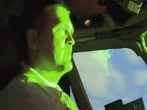 Türk Hava Yolları uçağına lazer tutuldu