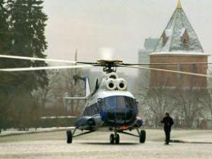 Kremlin'e helikopter pisti yapılacak