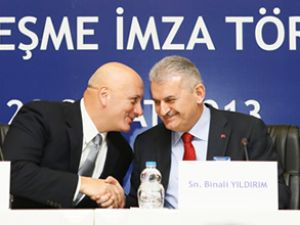Turkcell'in altyapı ihalesinde imzalar atıldı