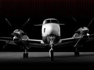 Beechcraft gözetleme uçağı tam not aldı