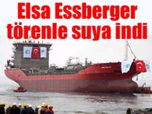 Elsa Essberger, törenle denize indirildi