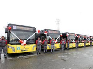 İETT'den Anadolu Yakası'na 50 otobüs