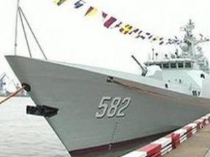 Çin, yeni bir 'hayalet gemi'yi suya indirdi