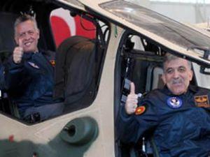 Yerli helikopter ATAK'ın ilk pilotları!