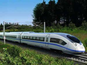 Siemens hız yapan trenlerini fuarda tanıttı