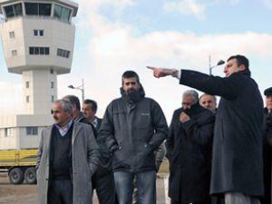 Kastamonu Uzunyazı Havalimanı'nı gezdiler