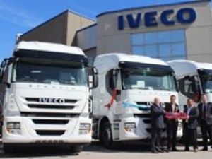 Iveco, 15 adet Stralis AT 450'yi teslim etti