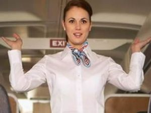 Kadınlar en büyük A380 uçağını uçurdu