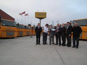 Mertur'a Ford Cargo çekici teslim edildi
