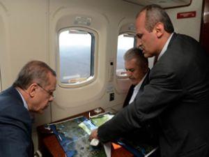 Yeni havalimanı arazisini incelediler