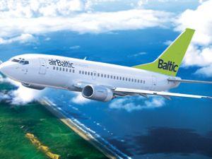 AirBaltic, İSG'den Riga'ya 55 €'ya uçacak