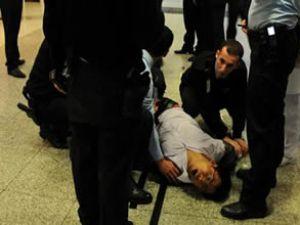 Çinli yolcu havalimanında intihara kalkıştı
