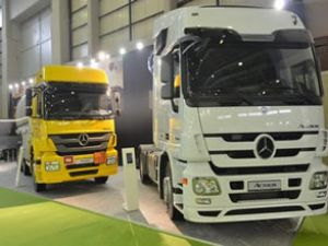 Mercedes, Gas Turkey 2013 Fuarı'nda