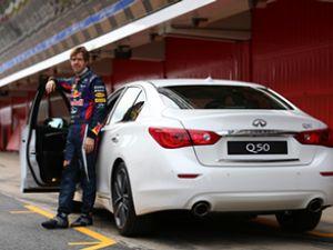 F 1 şampiyonu Vettel Infiniti'ye müdür oldu