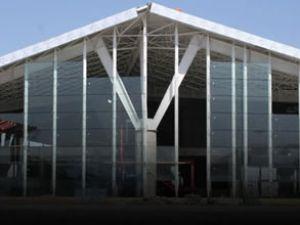 Kars Havalimanı'nın bina inşası sürüyor