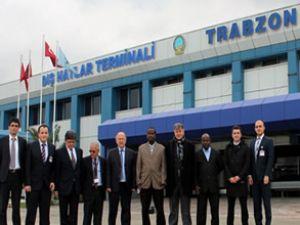 Somalili personeller Trabzon'da eğitim aldı