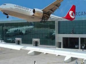 THY uçağı Ercan'dan geri dönüş yaptı