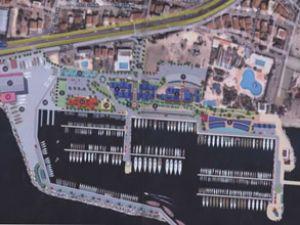 Büyükçekmece Yat Limanı'nda yıkım var
